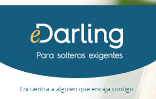 Crear cuenta en e Darling para encontrar pareja