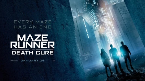 film terbaru januari 2018 maze runner the death cure