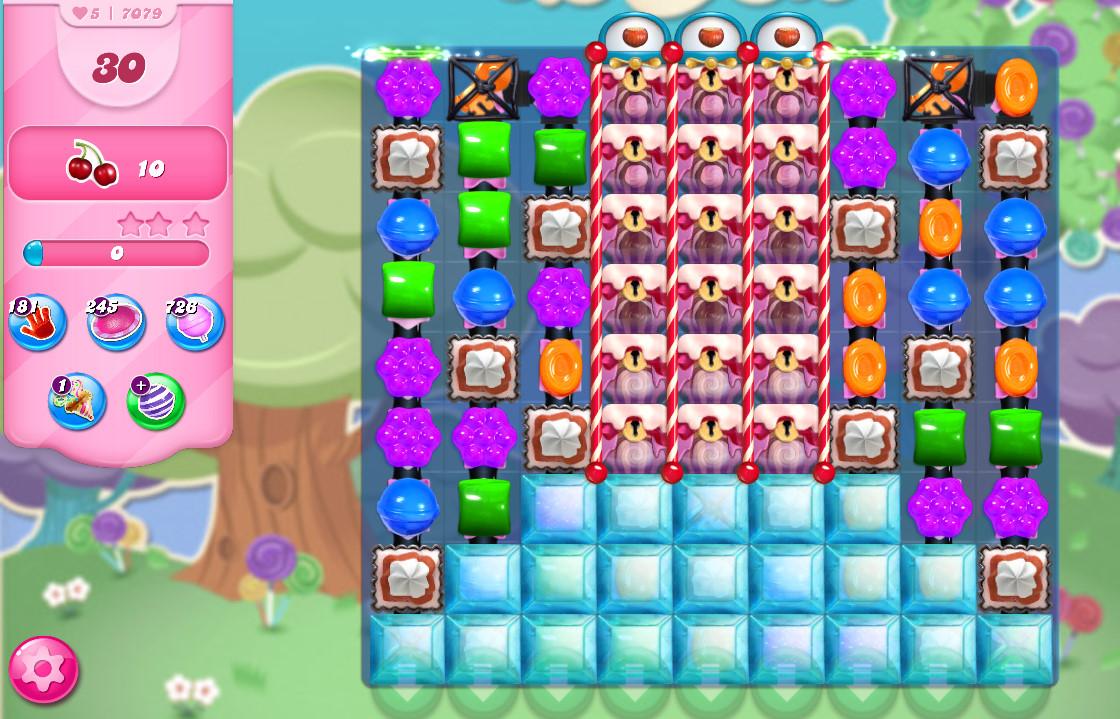 Candy Crush Saga level 7079