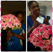 Omoni Oboli Receives Huge Bouquet of Roses from Husband for 14th Anniversary