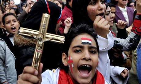 Diserang ISIS, Warga Kristen Koptik Mesir Mengungsi
