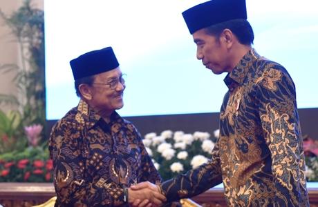 Maasya Allah, Presiden Jokowi Dorong Indonesia Jadi Pusat Keuangan Syariah Dunia