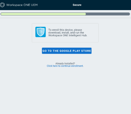 Google Play Store Workspace One New Features Android Managed
