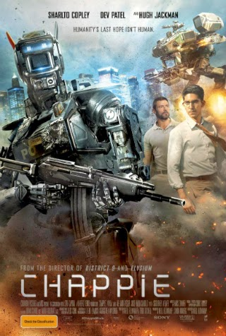 Chappie [2015] [DVDR] [Custom – HD] [Latino]