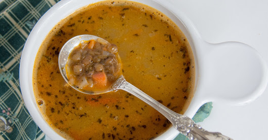 Quick and easy to prep Lentil Soup #GardenCuizine #nutritious #recipe