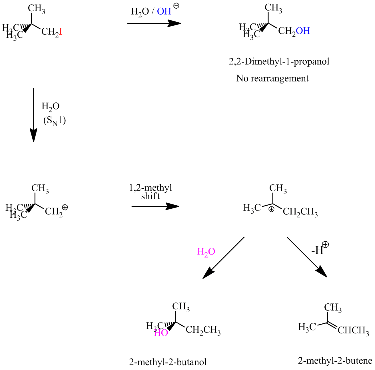 Organic Chemistry Sn1 And Sn2 Nucleophilic Substitution