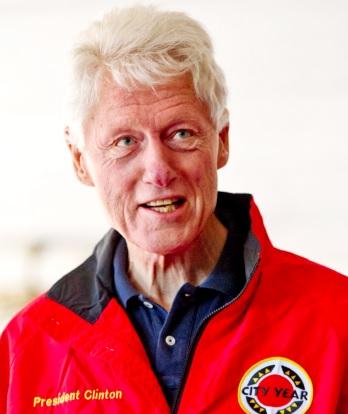 Foto de Bill Clinton más anciano