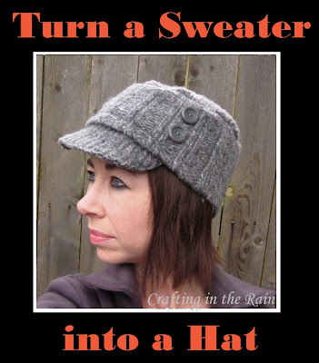 How to make a hat from a sweater