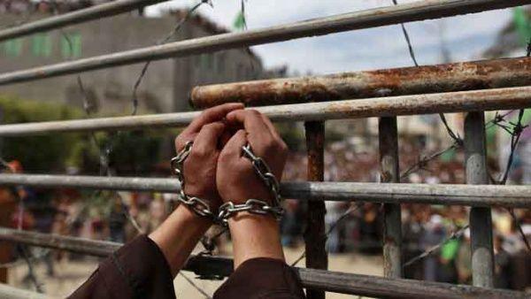 Palestinos presos en Israel empiezan huelga de hambre
