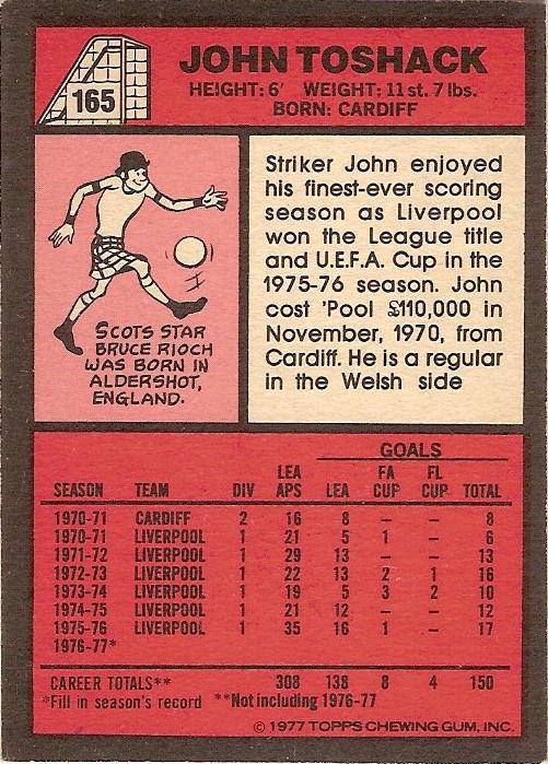 RED BACK 1977 -#035- LEICESTER TOPPS-FOOTBALL STEVE WHITWORTH