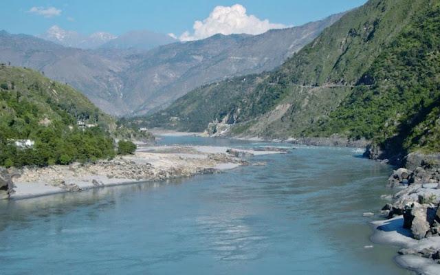 Gambar Sungai Indus atau Shindu di India