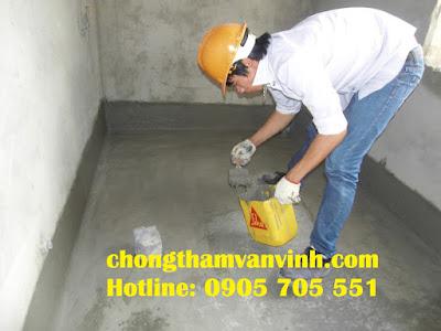 Dịch vụ chống thấm nhà vệ sinh tại đà nẵng giá rẻ quận Thanh Khê