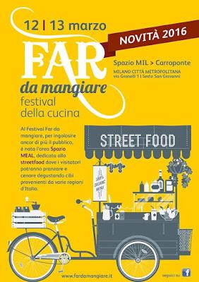 FAR DA MANGIARE  festival della cucina 2016