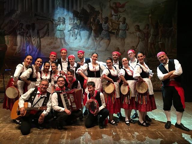 """Spettacolo di musica popolare siciliana con il Gruppo Folkloristico """"Gergent"""""""