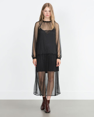 Robe à volants Zara