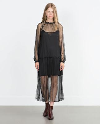 Robe à volants Zara