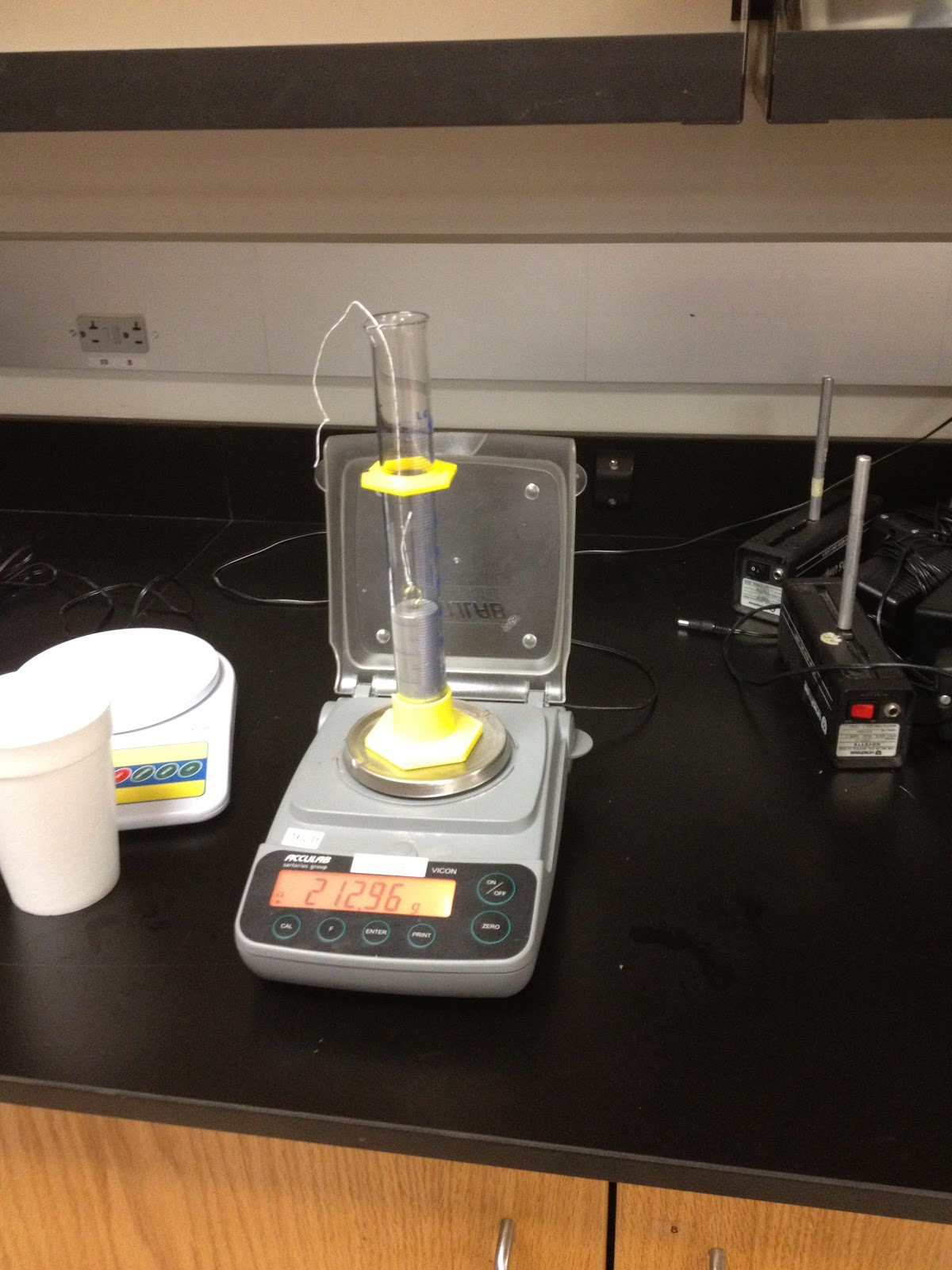 Experiment 1 Fluid Statics Fluid Statics Calculating