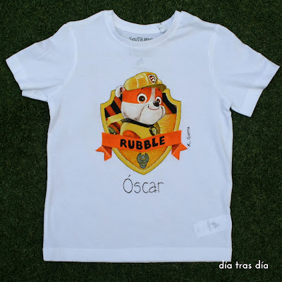 Camiseta patrulla canina