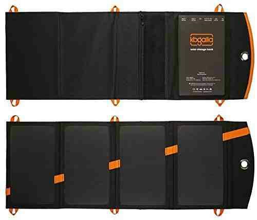 22-Watt Kogalla Solar Array with 10,000mAh Power Storage Bank