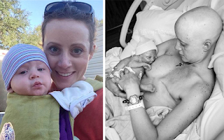 31χρονη μητέρα που πάλεψε με τον καρκίνο