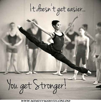 Dance get you stronger