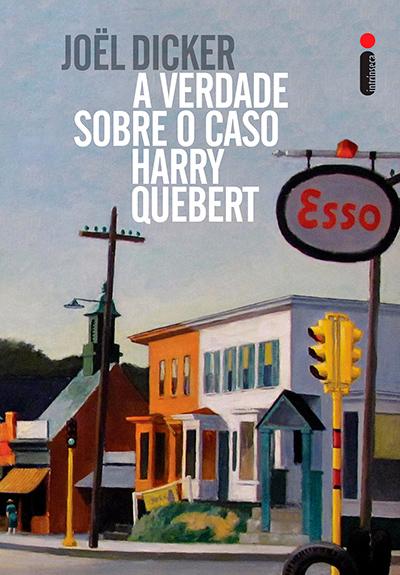 Capa do livro A Verdade Sobre o Caso Harry Quebert