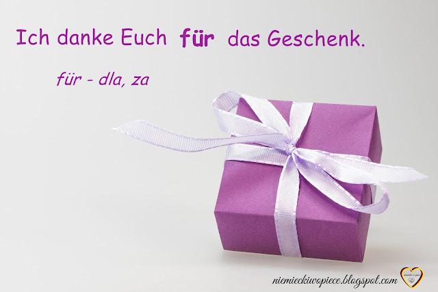 Niemiecki w opiece - Przyimki z biernikiem - Niemiecki dla opiekunek, niemiecki nauka, niemiecki słówka
