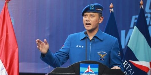 AHY Tak Hadiri Kampanye Akbar Prabowo-Sandi di Stadion GBK, Ini Penyebabnya