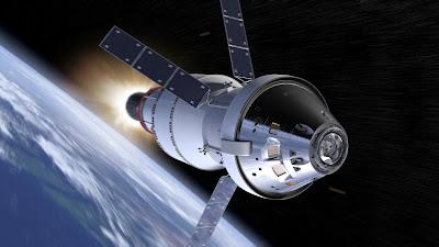 solar system rocket