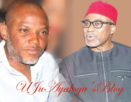 FLEEING Kanu: More Trouble For Sen. Abaribe As Court Gives Him 3 Options