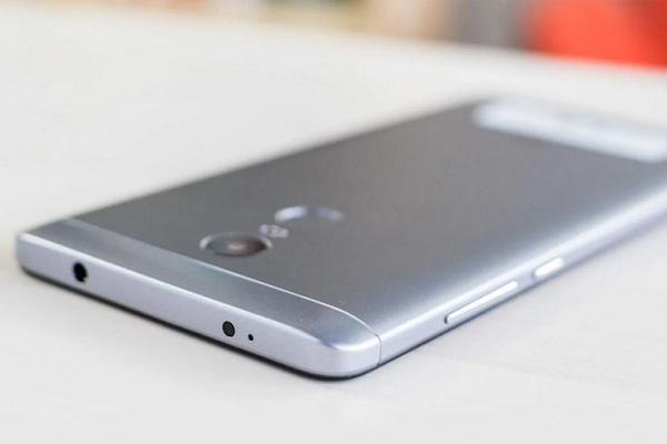 Thiết kế Xiaomi Redmi Note 4X