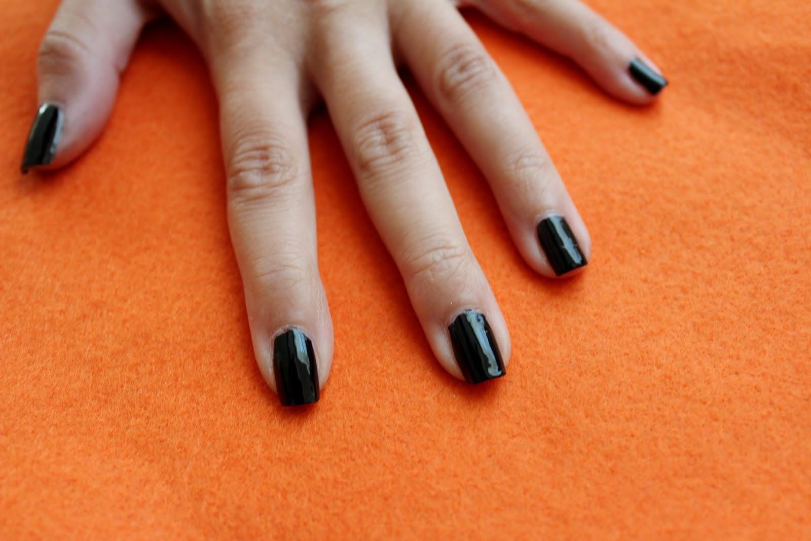 Simple Nail Art for Newbies: 'Jack Skellington' Nightmare ...