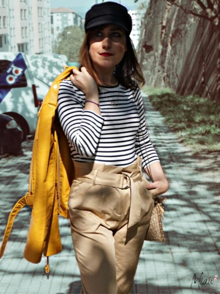 Look Con Pantalon Paper Bag Miau Potingues