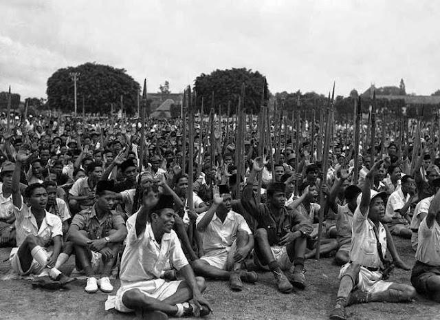 Tak Tercatat Sejarah, Kemenangan Indonesia Karena Keberanian dan Komando Para Kiai