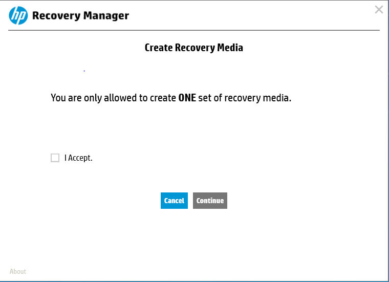 hp laptop create recovery disk windows 7