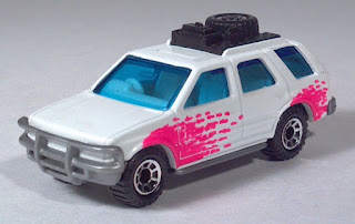 1995, 1996 Matchbox MB 56 Isuzu Rodeo 1991 1992 1993 1994 1997 Scale Model