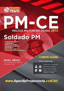 Apostila CONCURSO PMCE 2016 para Soldado PM/CE.