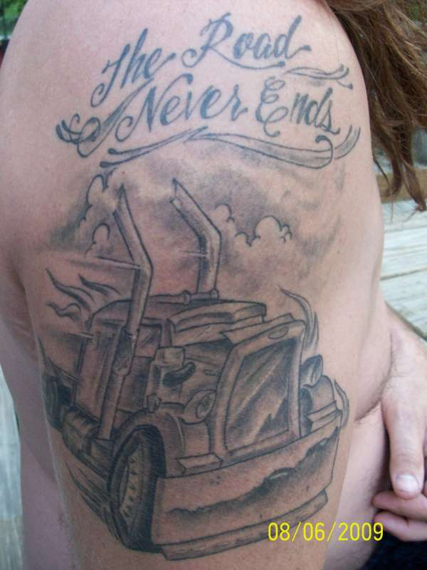 Tow Truck Tow Truck Tattoos