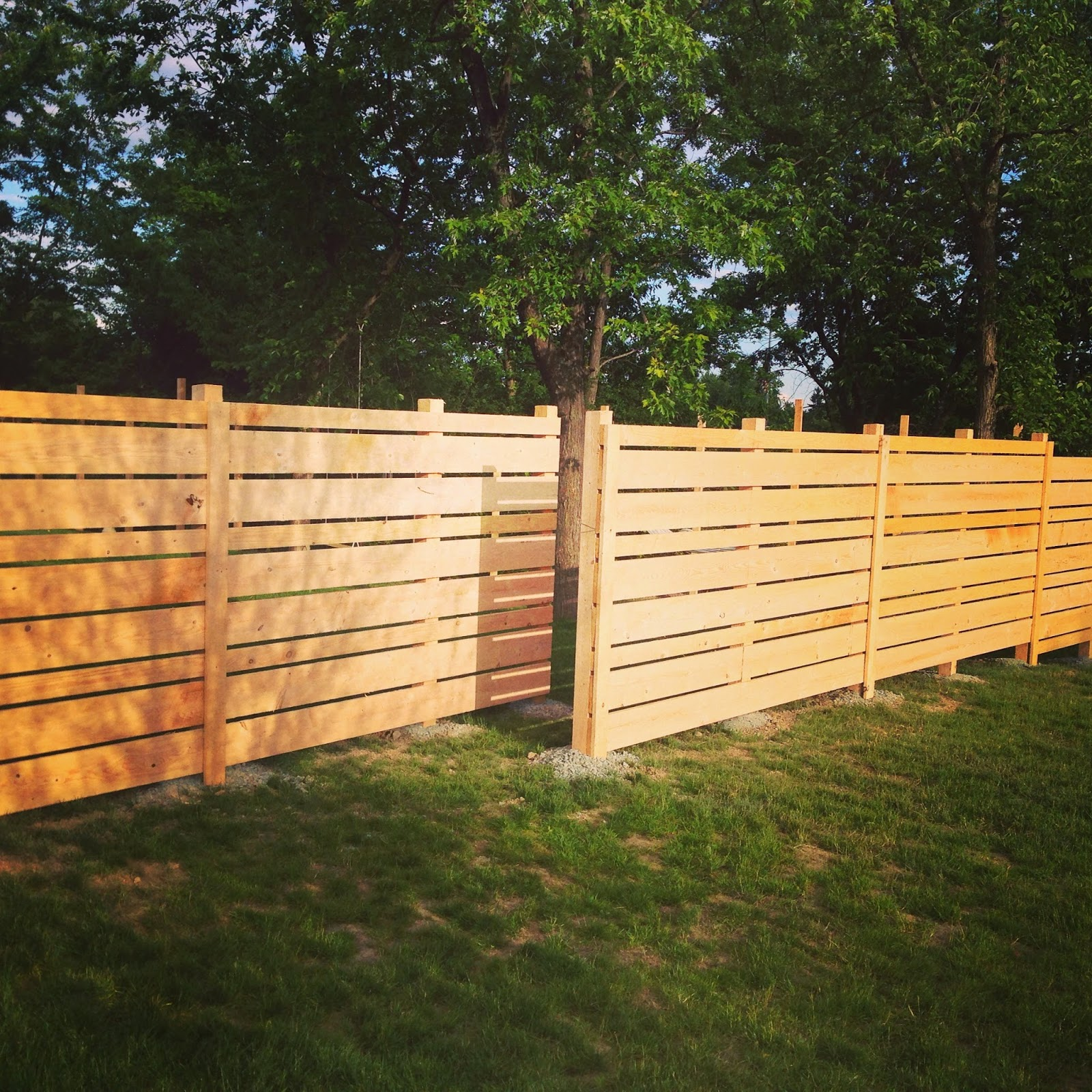 "Unique Backyard Ideas: My ""Unique"" DIY Fence"