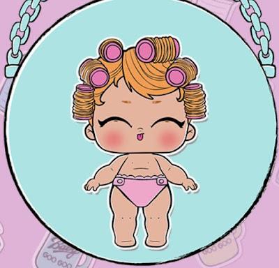 Бигуди леди (Ранкова бебі или Lil Babydoll, номер 3-068)