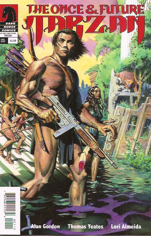 Language In 45 And 47 Stella Street: DARK HORSE PRESENTS THE ONCE AND FUTURE TARZAN