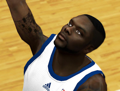 NBA 2K13 Lance Stephenson Cyber Face Mods