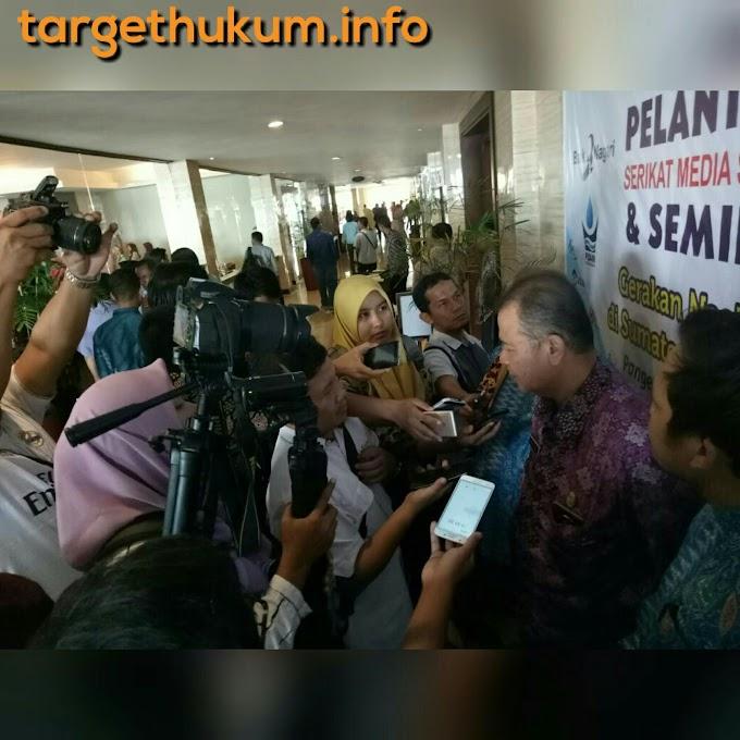 Wagub Nasrul Abit : Jadikan Media Siber Untuk Informasi Kebaikan