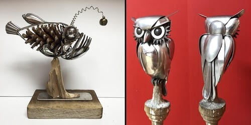 00-Matt-Wilson-Recycled-Animal-Cutlery-Sculptures-www-designstack-co
