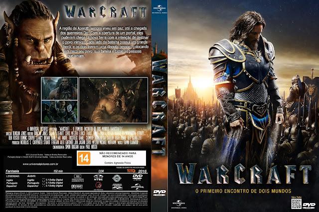 Capa DVD Warcraft O Primeiro Encontro De Dois Mundos