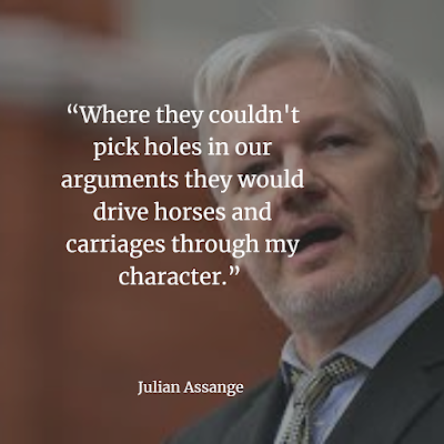 Julian Assange Quotes and Sayings