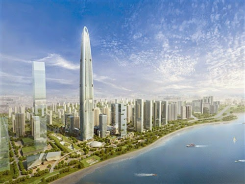 THE TALLEST BUILDINGS OF THE FUTURE