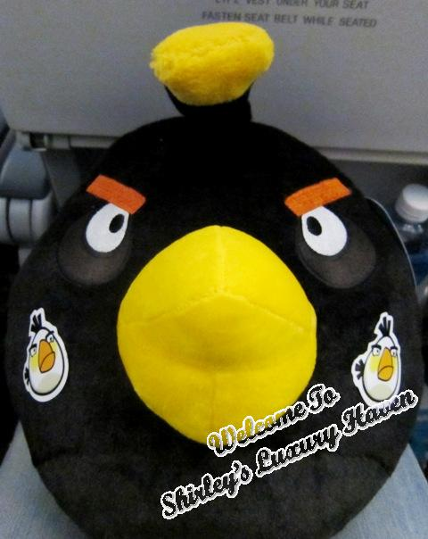 finnair angry birds asian challenge black bird