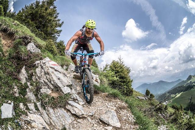 Alpe Adria Mountainbike MTB Tour Strecke Track Oisternig