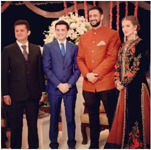 Arunoday Singh reception